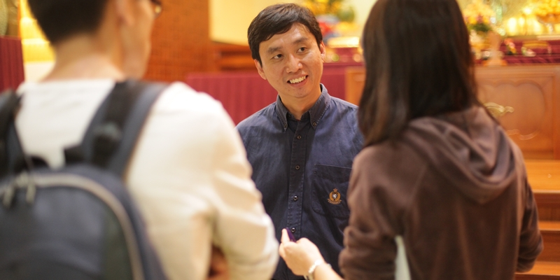Advice to Buddhist youth leaders by Tan Chade Meng
