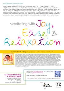 Meditation J E R