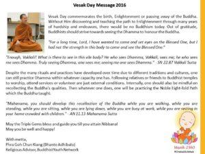 Phra CK Vesak2560