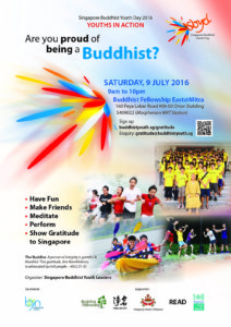 Sign up now for Acts of Gratitude to Singapore on 9 Jul. buddhistyouth.sg/gratitude