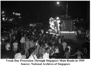 Vesak Day Procession 1959